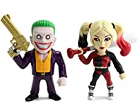 Metals Suicide Squad 4 inch Movie Twin Pack -Joker B & Harley Q (M23) by Metals