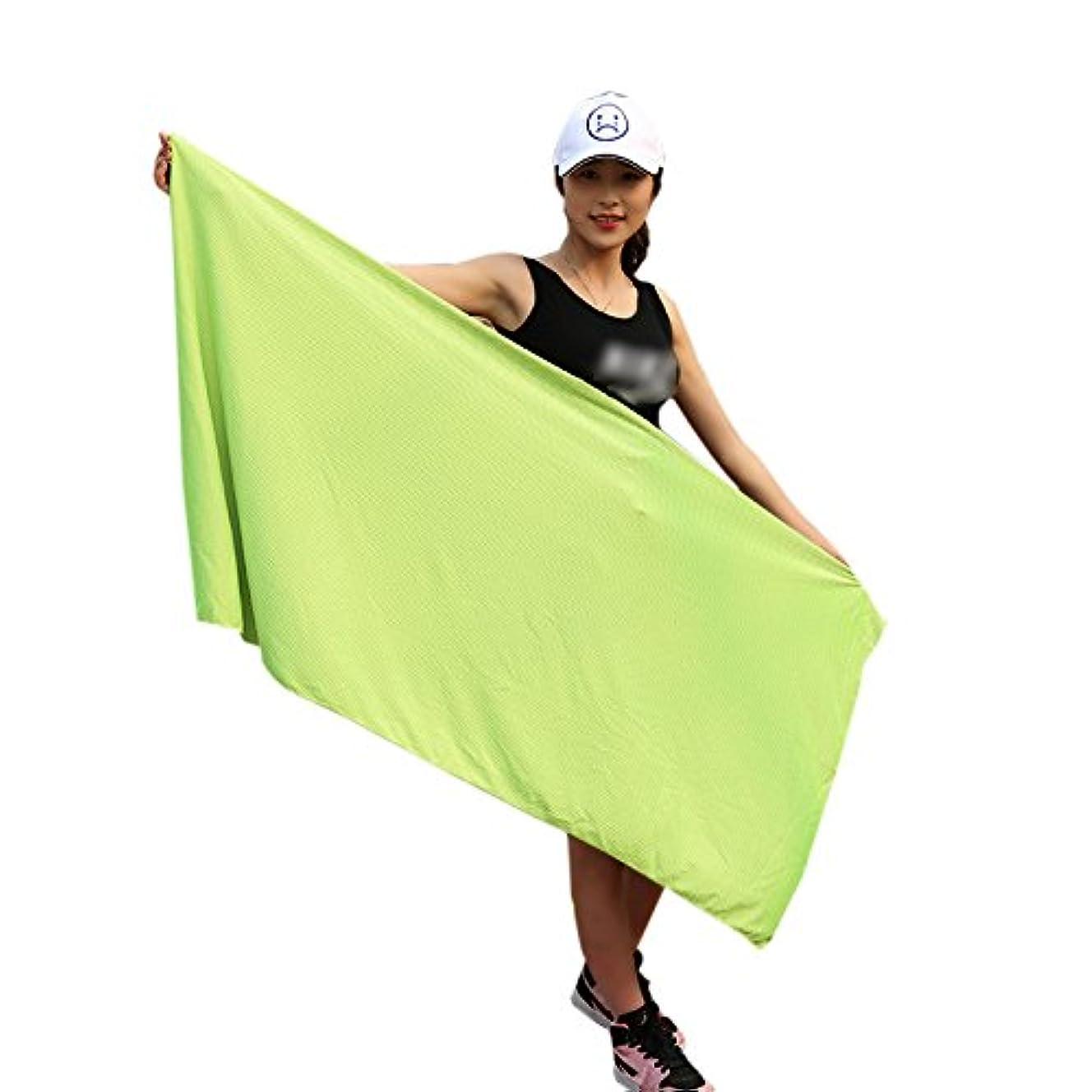 指標を必要としていますなにZumZup 冷却タオル 80 * 150㎝ 超涼しい バスタオル スポーツ プール 運動 水泳 熱中症対策 UVカット 紫外線対策 速乾タオル スポーツタオル 大判 大きいサイズ ローズ