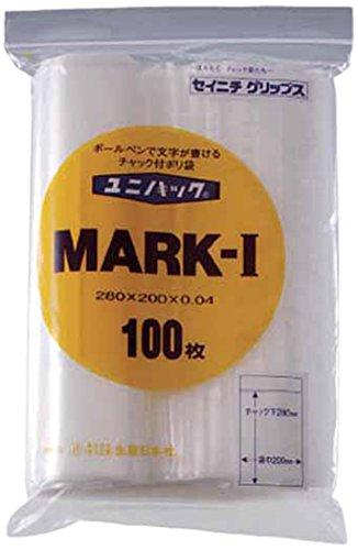 セイニチ 「ユニパック」 MARK-A 70×50×0.04 300枚入 MARKA
