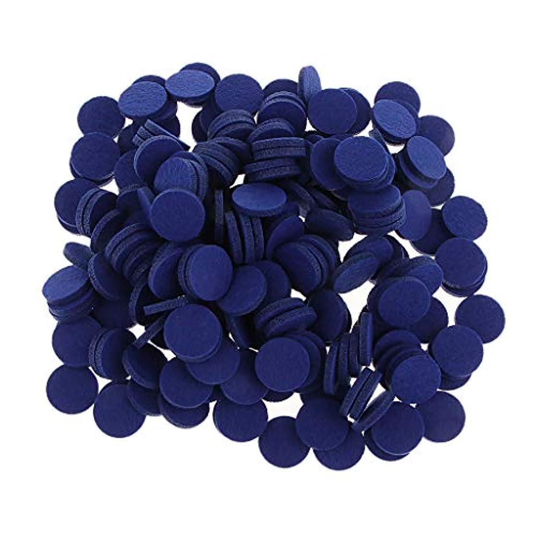 争い継承空虚ディフューザーパッド アロマパッド パッド 精油 エッセンシャルオイル 香り 約200個入り 全11色 - ロイヤルブルー