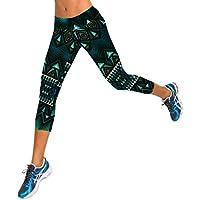 OVERMAL Leggings Overmal Women High Waist Fitness Yoga Sport Pants Printed Leggings