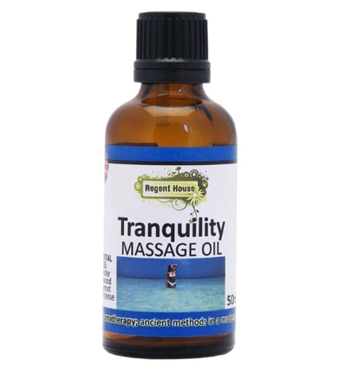 震えアスペクトピアース貴重なローズウッドを、たっぷり配合しました。 アロマ ナチュラル マッサージオイル 50ml トランキュリティー(Aroma Massage Oil Tranqulity)