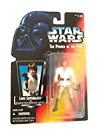 Star Wars - Power of the Force (1995) Luke Skywalker Red Card Long Saber Action Figure