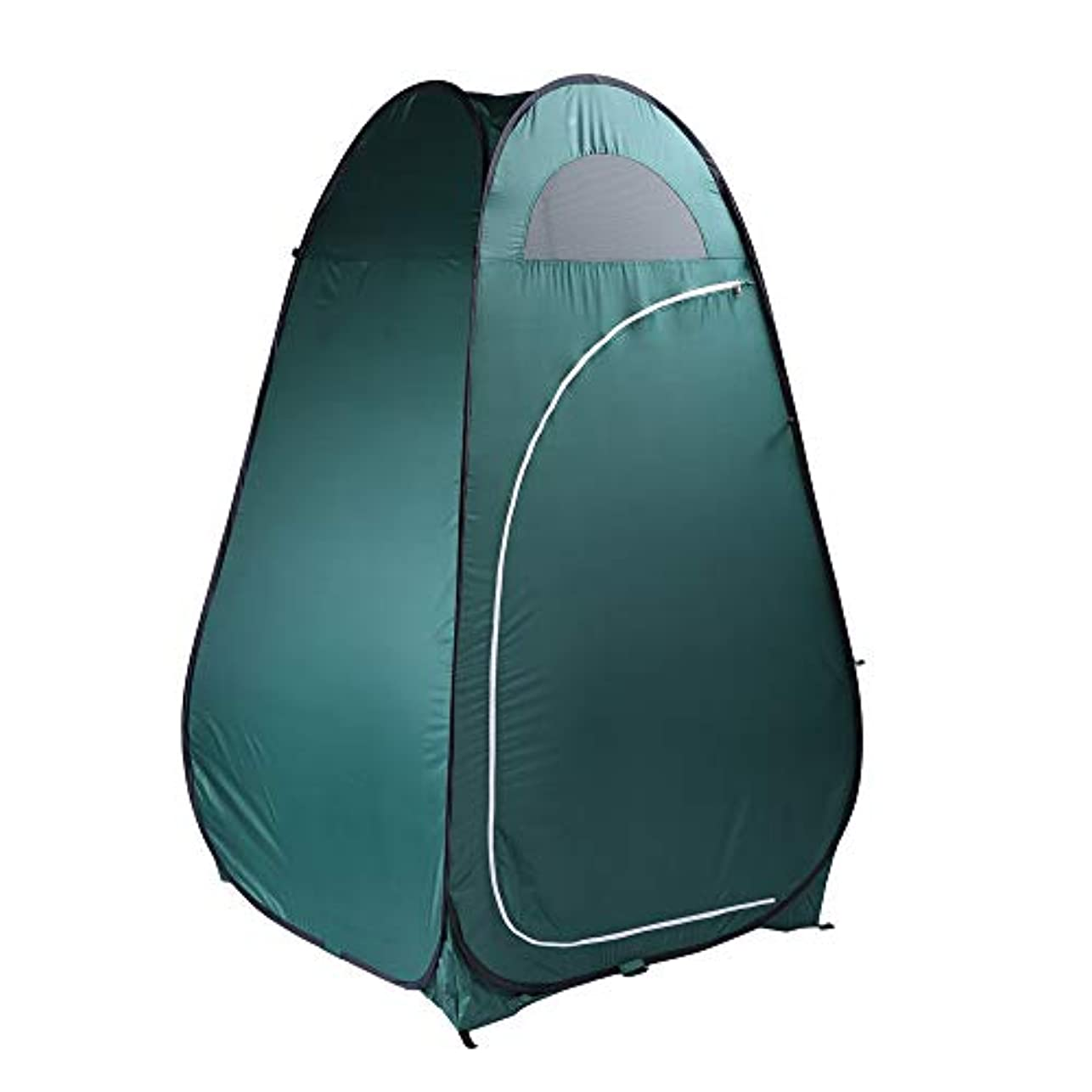 迷信提案する上昇Hom-dis ポータブル ポップアップ シャワーテント キャンプ ビーチ トイレテント 着替え 部屋 アウトドア バックパック シェルター