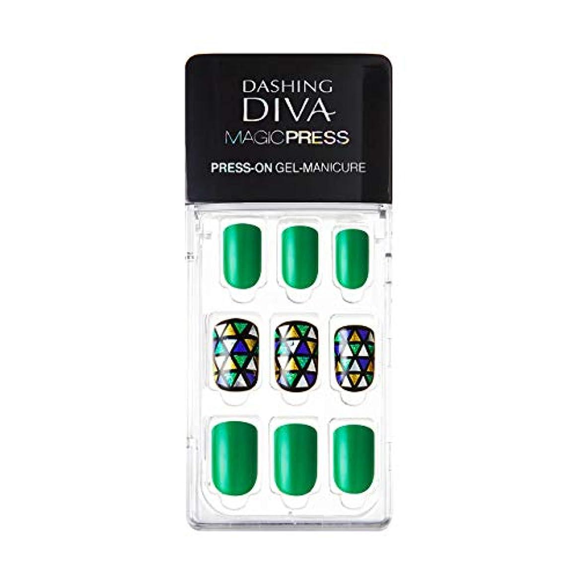 オーバーヘッド解読するメールMDR115:ネイルチップ【ダッシングディバマジックプレス】DASHING DIVA MAGICPRESS PRESS-ON GEL-MANICURE 1BOX(30TIPS)-DURY+