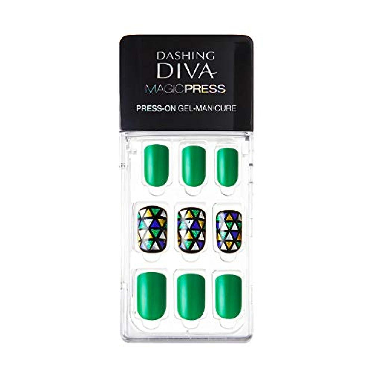 トラクター芽交通MDR115:ネイルチップ【ダッシングディバマジックプレス】DASHING DIVA MAGICPRESS PRESS-ON GEL-MANICURE 1BOX(30TIPS)-DURY+