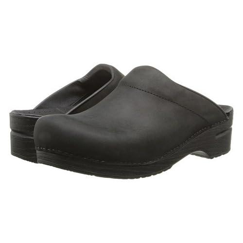 (ダンスコ)Dansko ユニクロッグズ・スライド・靴 Karl Black Oiled US Men's 8.5-9 26-26.5cm Regular [並行輸入品]