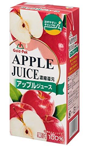 ゴールドパック 業務用100%アップルジュース 1L 1箱(6本)