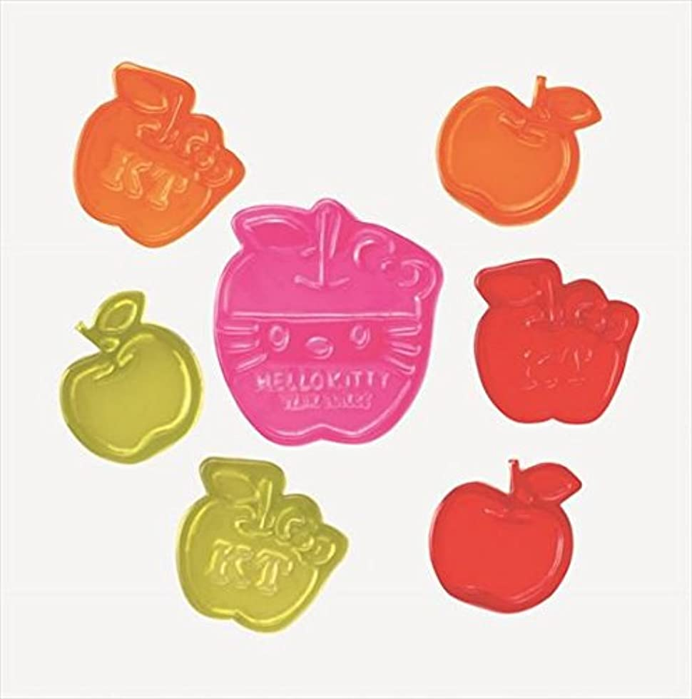 驚ポルトガル語料理GelGems(ジェルジェム) ジェルジェムハローキティバッグS 「 リンゴフェイス 」 E1200001 キャンドル 200x255x5mm (E1200001)