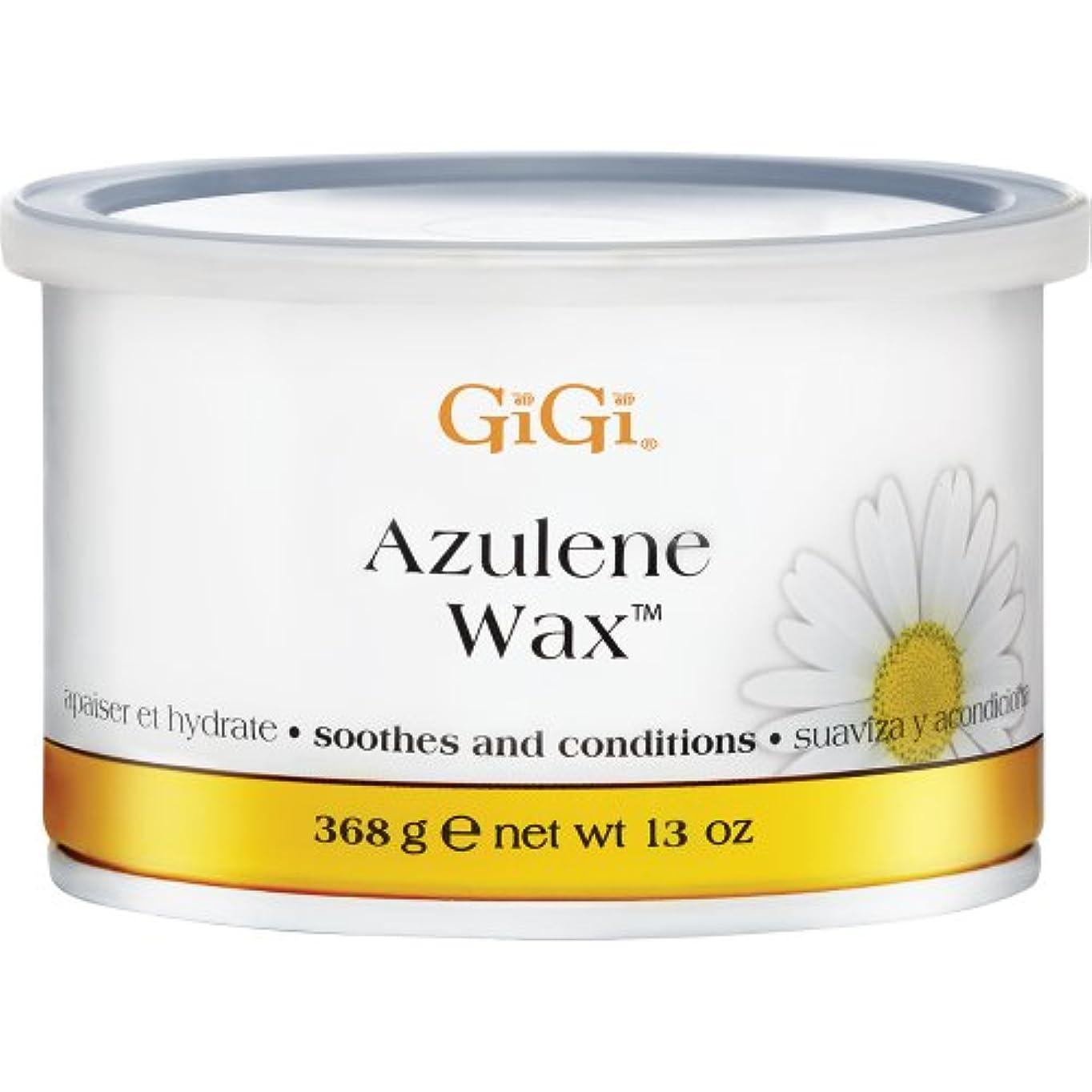 伝導率ワームエイリアンGiGi Azulene Wax Soothes and Conditions All Skin Types 368g by Gigi