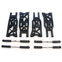 HPI 1 / 8トロフィートラギー4.6 *フロント&リアサスペンション腕、Turnbuckles、ロッドEnds