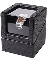Caln ワインディングマシーン ウォッチワインダー 1年保証 腕時計 自動巻き器 マブチモーター搭載 静音設計 (1本巻)