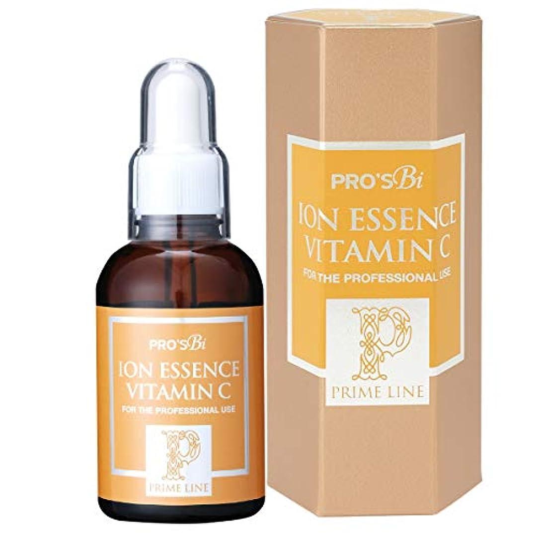 疑問に思うドアミラー口プロズビ プライム イオンエッセンス 高濃度 ビタミンC 60ml イオン導入 美容液 業務用