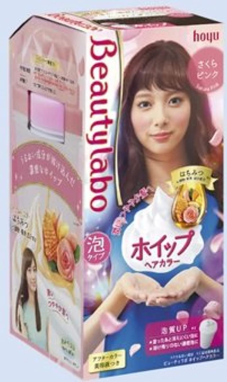 姪素子調べるBeautyLabo(ビューティラボ) ホイップヘアカラー さくらピンク × 5個セット
