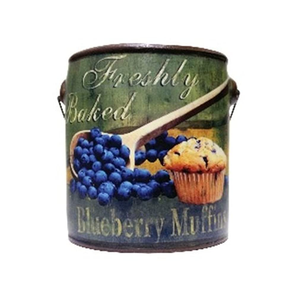 文明重荷カールA Cheerful Giver Blueberry Farm Fresh Candle 20 oz [並行輸入品]