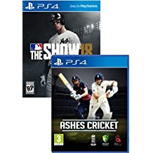 MLB The Show 18 & Ashes Cricket PS4 Bundle