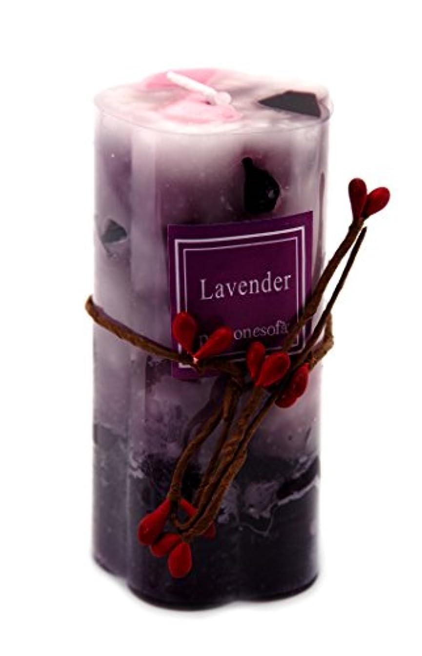 ペース大理石透けて見える(Style 1/Lavender) - Creationtop Handcrafted Scented Candles Home Decor Aroma Candles (Style 1/Lavender)