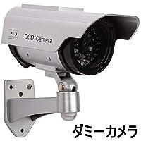 ダミー防犯カメラ/監視カメラ ダミーカメラ(ソーラーLEDライト)  並行輸入品