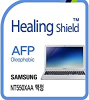 Healingshield スキンシール液晶保護フィルム Oleophobic AFP Clear Film for Samsung Laptop Notebook 5 NT550EAZ