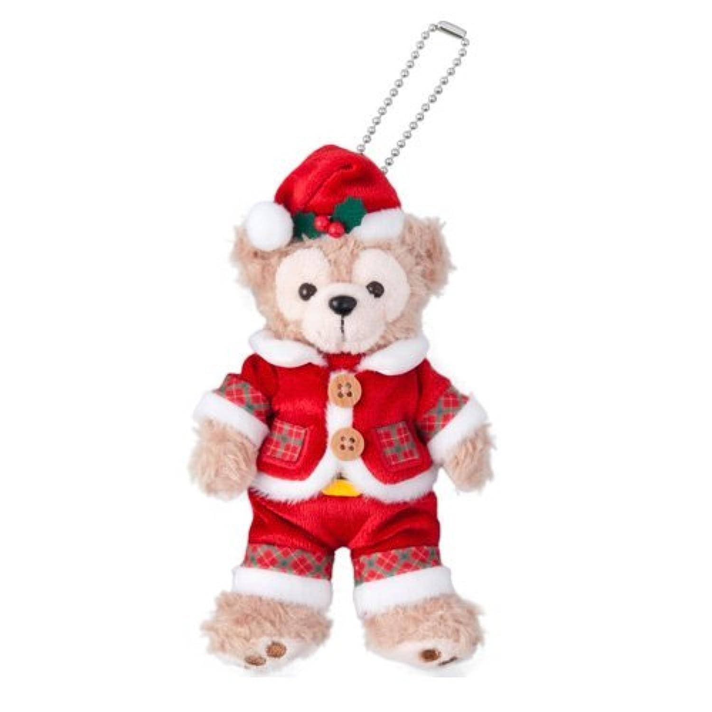 ダッフィー ぬいぐるみバッジ ダッフィーのクリスマス2016 【東京ディズニーシー限定】 X'mas Duffy