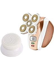 女性の毛の除去剤、毛の取り外しの足の腕の表面のビキニラインのための電気シェーバーの再充電可能なトリマーかみそり