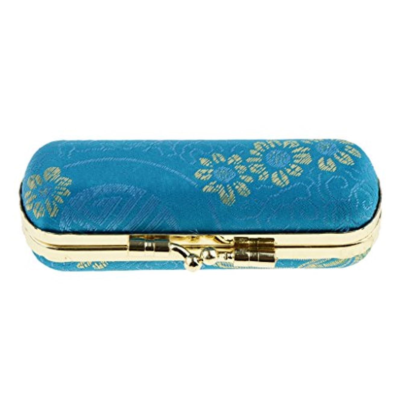 オフ被る前提Perfeclan リップスティックケース 口紅 リップグロスケース 収納ボックス ミラー付き 化粧鏡 化粧ポーチ 携帯用
