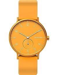 [スカーゲン] 腕時計 AAREN SKW6510 正規輸入品 イエロー