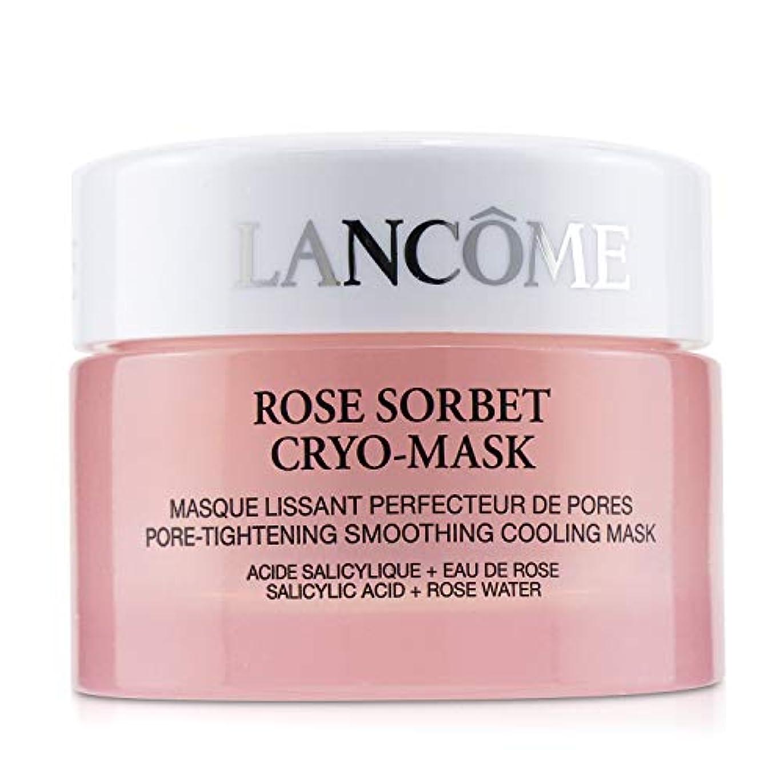 外側伝説不足ランコム Rose Sorbet Cryo-Mask - Pore Tightening Smoothing Cooling Mask 50ml/1.7oz並行輸入品