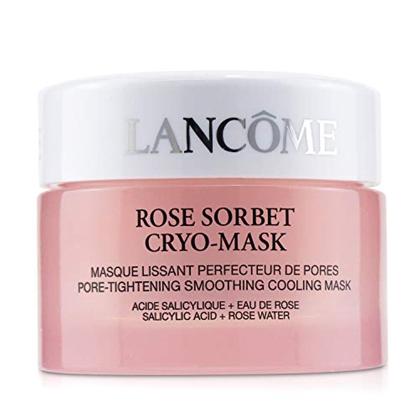 恥ずかしさ士気体操ランコム Rose Sorbet Cryo-Mask - Pore Tightening Smoothing Cooling Mask 50ml/1.7oz並行輸入品