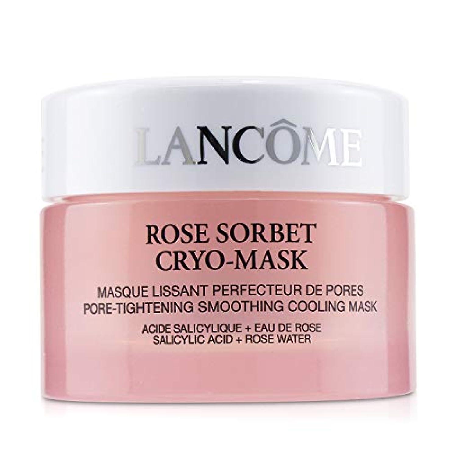 助けになる属する混雑ランコム Rose Sorbet Cryo-Mask - Pore Tightening Smoothing Cooling Mask 50ml/1.7oz並行輸入品