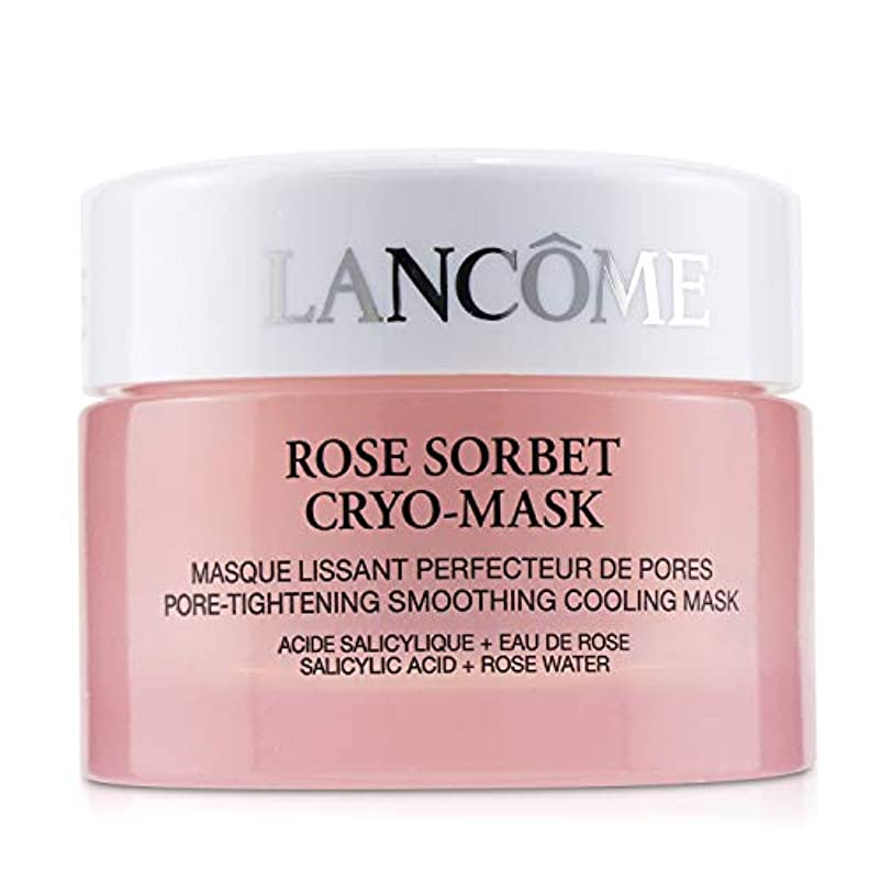 四面体エレガント郵便ランコム Rose Sorbet Cryo-Mask - Pore Tightening Smoothing Cooling Mask 50ml/1.7oz並行輸入品