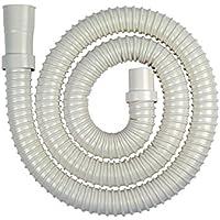 カクダイ 洗濯機排水ホース アイボリー 長さ1.5m 4361-1.5