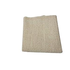 (ビッツ) Bitz 馬用 サイザル製 クロス 布 タオル 雑巾 お手入れ用品 ペット用品 (ワンサイズ) (ランダム)