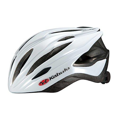 OGK KABUTO(オージーケーカブト) ヘルメット FIGO パールホワイト M/L (頭囲 57cm~60cm未満)