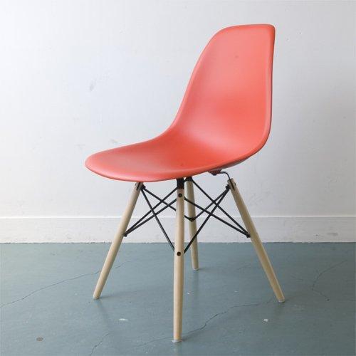 Herman Miller ハーマンミラー Eames Shell Side Chair イームズ シェルサイドチェア DSW (メープルベース)/レッド DSW.BKULZEE8