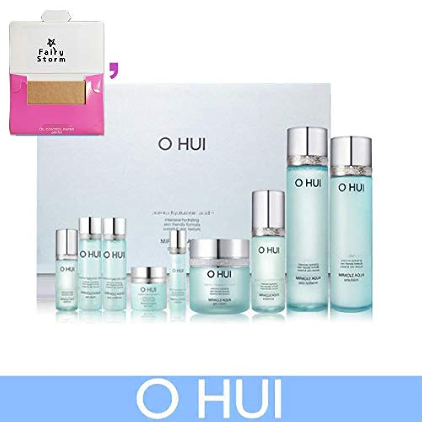 協力スペイン語ガジュマル[オフィ/O HUI] Ohui Miracle AQUA 4 PIECES Special Limited Edition/ミラクルアクア4ピース特別限定版+ Sample Gift (海外直送品)