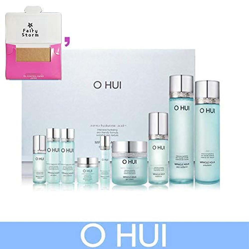 聡明ノート緩やかな[オフィ/O HUI] Ohui Miracle AQUA 4 PIECES Special Limited Edition/ミラクルアクア4ピース特別限定版+ Sample Gift (海外直送品)