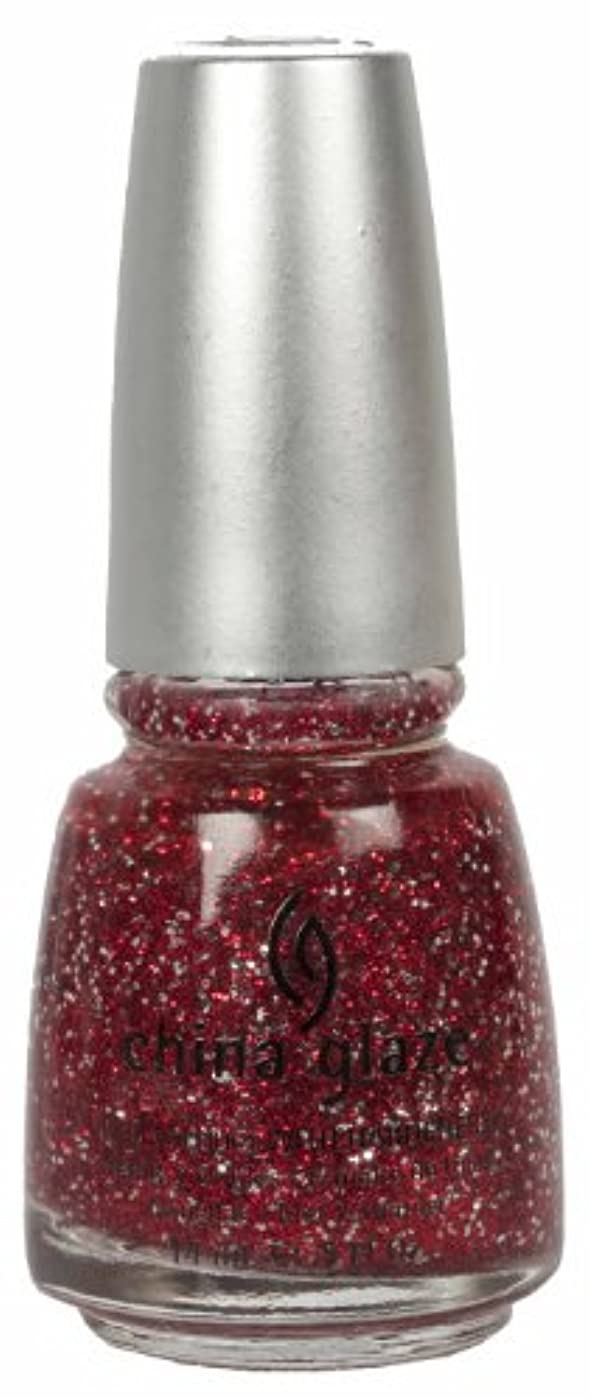 合理的とらえどころのないシャツCHINA GLAZE Glitter Nail Lacquer with Nail Hardner - Love Marilyn (DC) (並行輸入品)