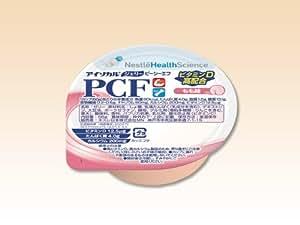 アイソカル・ジェリー PCF(ピーシーエフ) もも味 66g(80kcal)×24個/箱 【栄養機能食品】 ネスレ