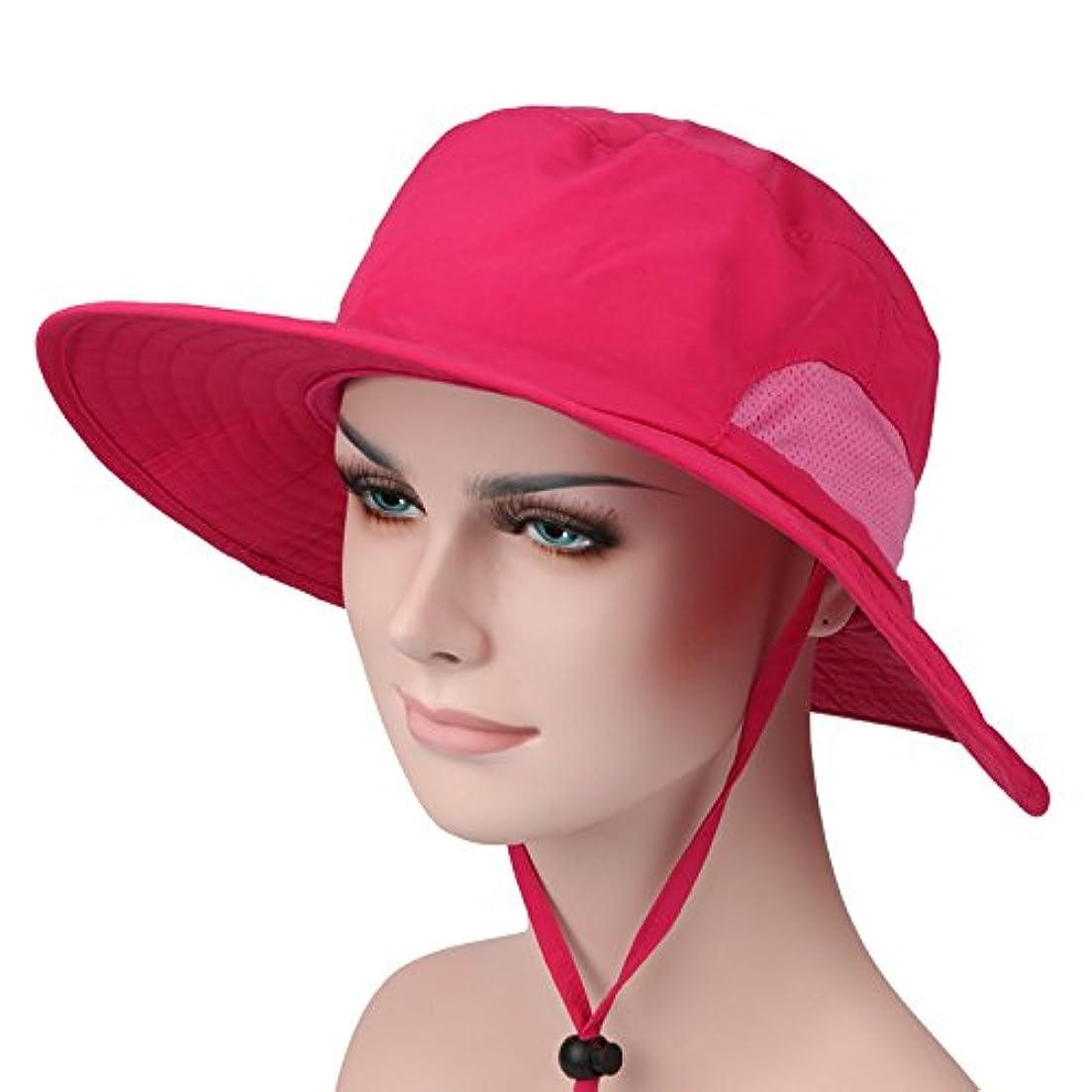 釣り帽子,バケットハット 360度 日よけカバー 紫外線防止 超軽量 メンズ レディース