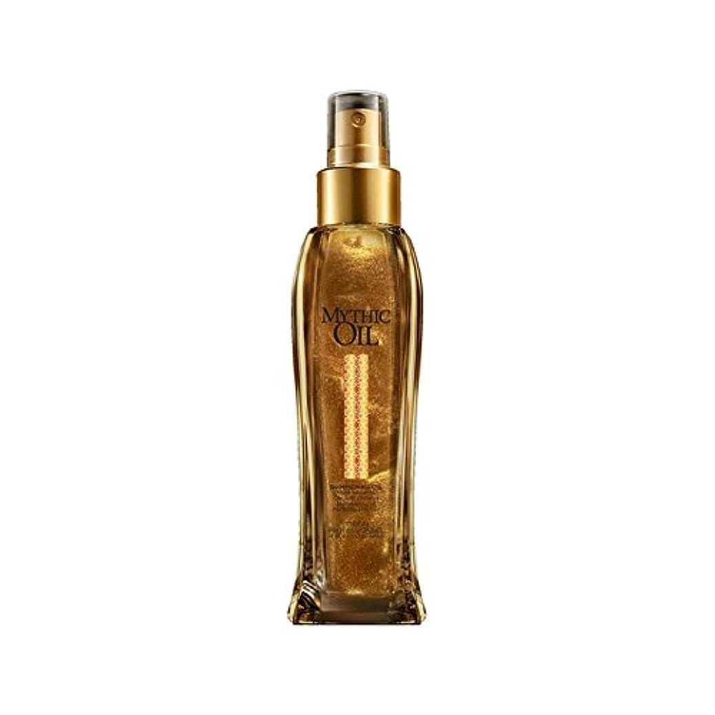 不倫タイヤモニターL'Oreal Professionnel Mythic Oil Shimmering Oil (100ml) - ロレアルプロフェッショナルの神話油きらめくオイル(100ミリリットル) [並行輸入品]
