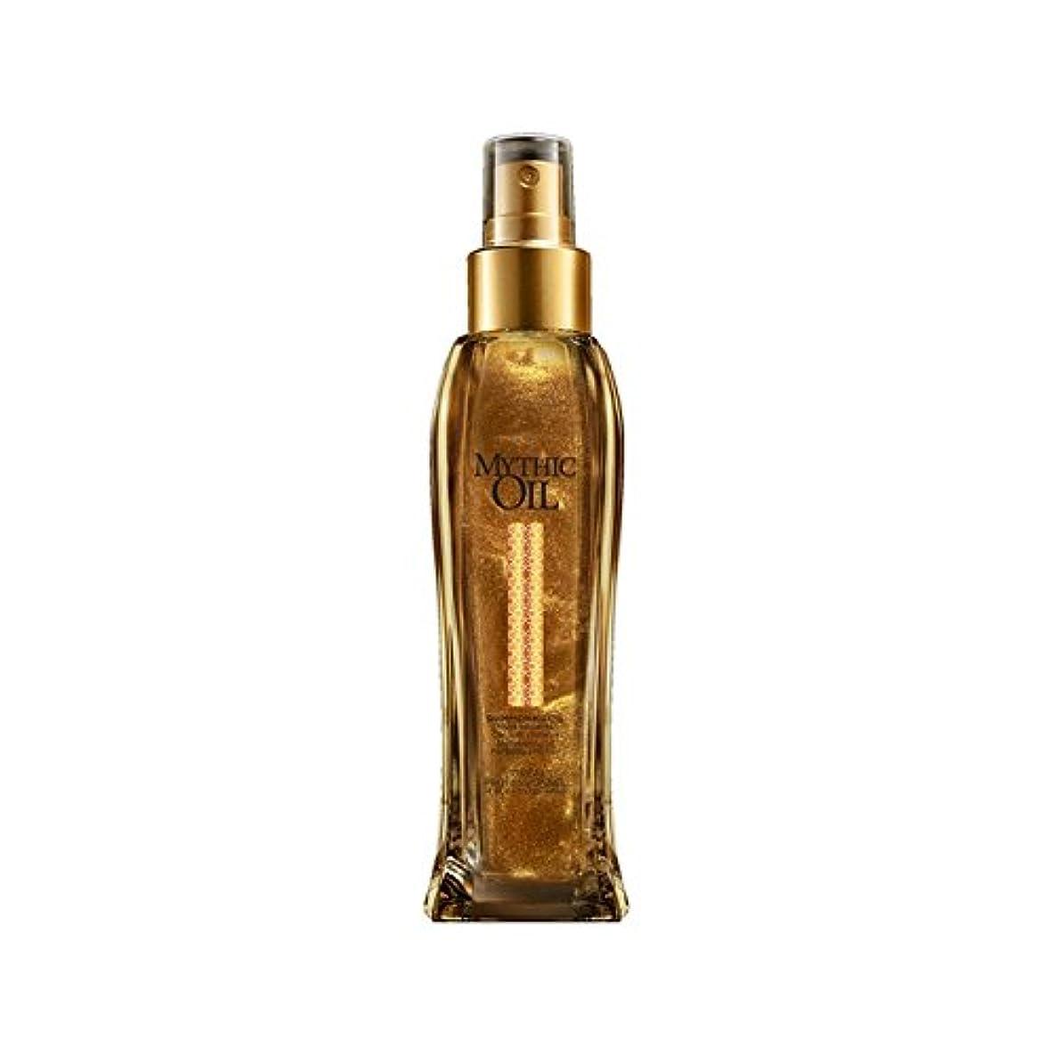 外向きオープニング気怠いL'Oreal Professionnel Mythic Oil Shimmering Oil (100ml) - ロレアルプロフェッショナルの神話油きらめくオイル(100ミリリットル) [並行輸入品]