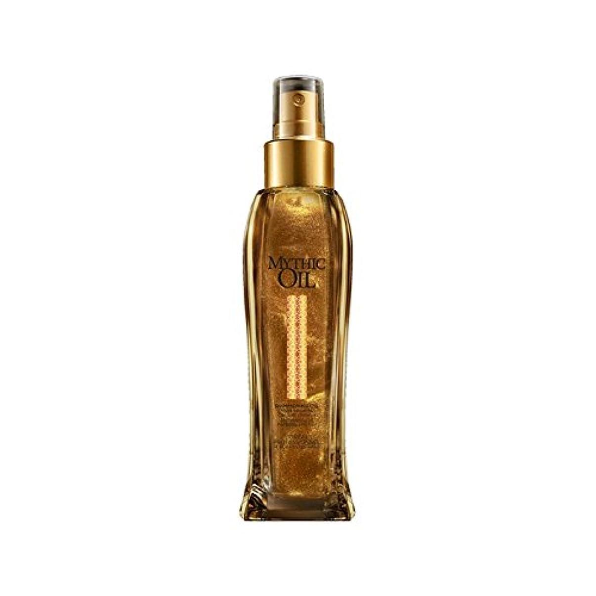 解決する扱いやすい閉塞L'Oreal Professionnel Mythic Oil Shimmering Oil (100ml) - ロレアルプロフェッショナルの神話油きらめくオイル(100ミリリットル) [並行輸入品]