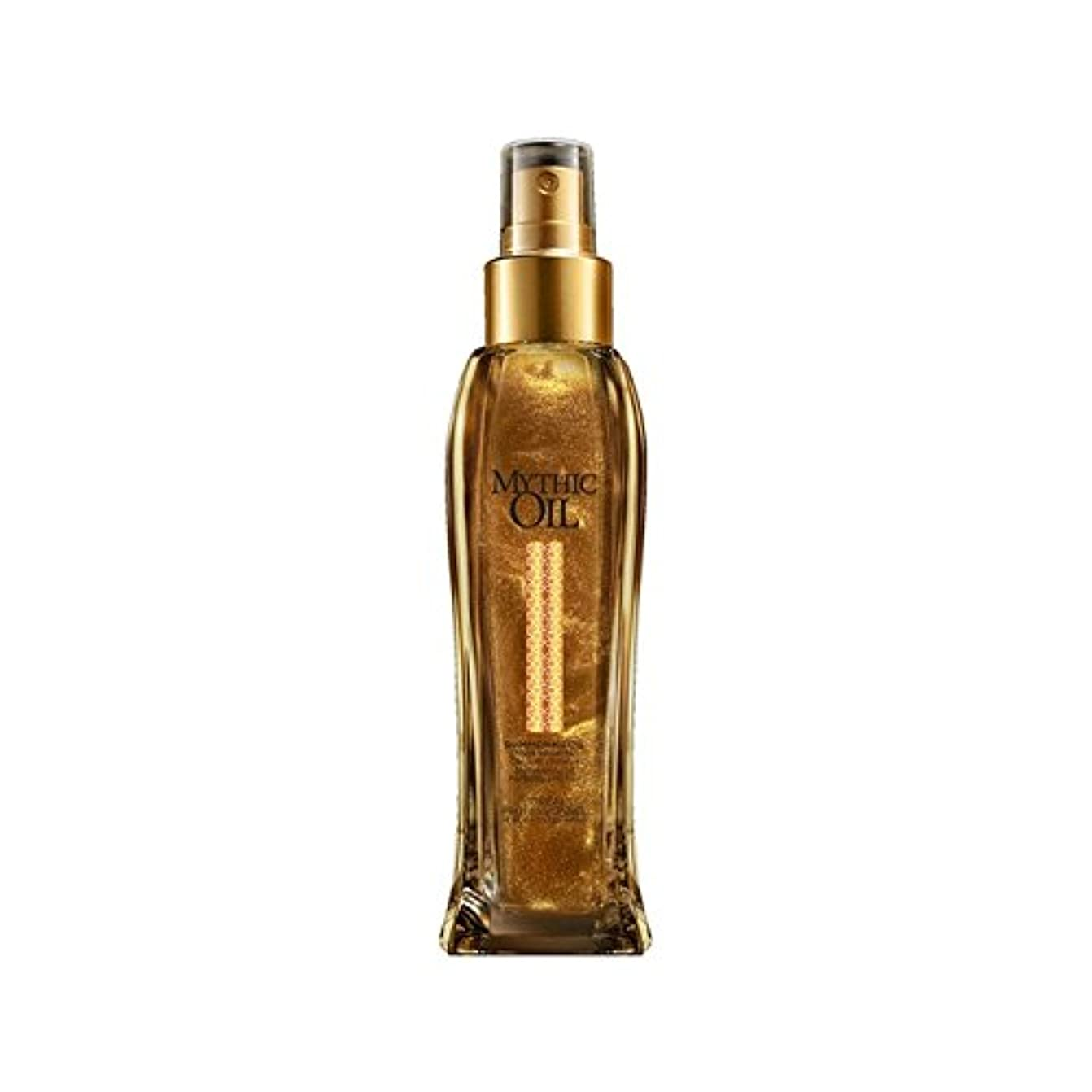 補助信仰ガウンL'Oreal Professionnel Mythic Oil Shimmering Oil (100ml) - ロレアルプロフェッショナルの神話油きらめくオイル(100ミリリットル) [並行輸入品]