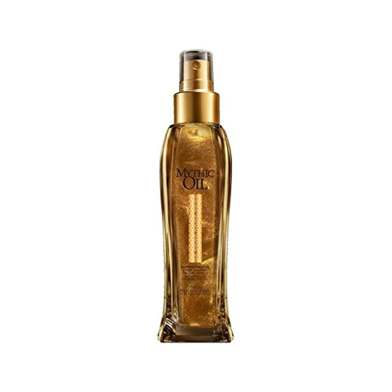 マリンローマ人揮発性L'Oreal Professionnel Mythic Oil Shimmering Oil (100ml) - ロレアルプロフェッショナルの神話油きらめくオイル(100ミリリットル) [並行輸入品]