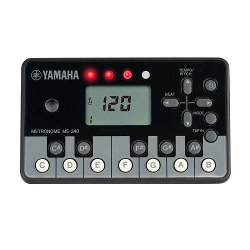 YAMAHA デジタルメトロノーム 【ピアノブラック】 ME-340PF