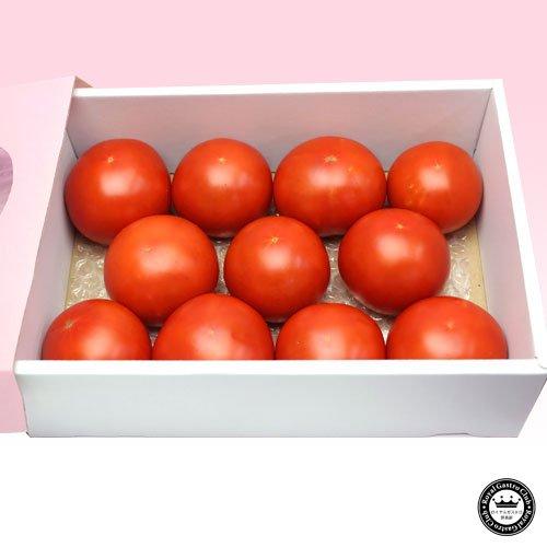 長野県産 完熟トマト ぜいたく トマト 10~15玉 1kg~1.2kg前後 ギフト箱入