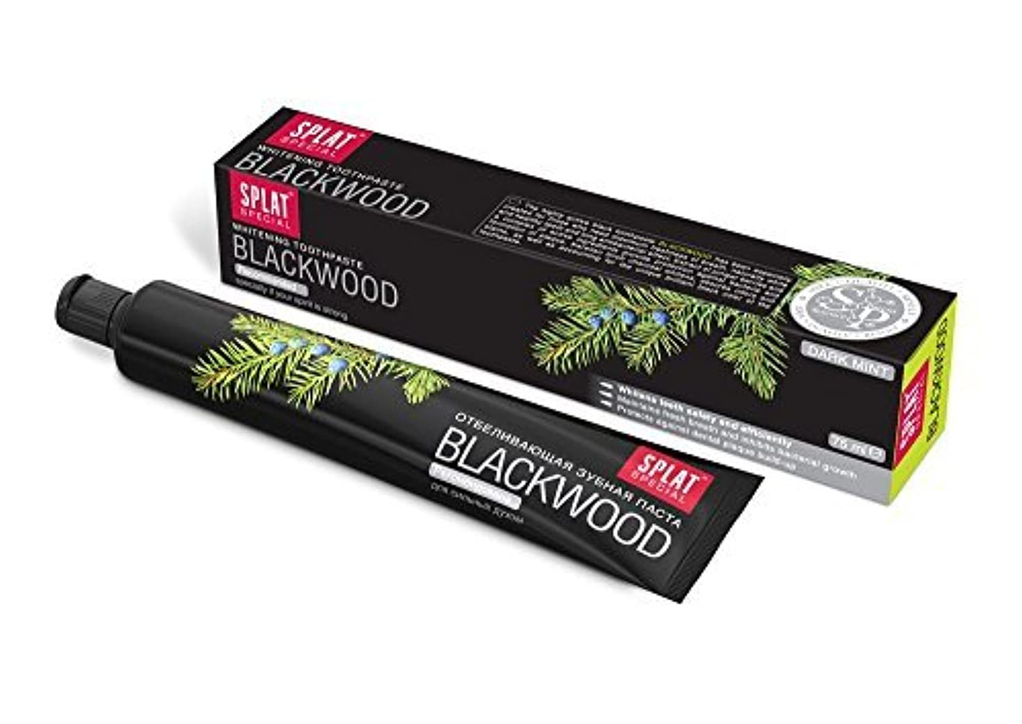 歌うコンパス不条理Splat Blackwood Whitening Toothpaste by Splat [並行輸入品]