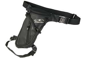 ラフアンドロード(ROUGH&ROAD) バイク用ホルスターバッグ J.Wホルスター マットレザー W20XD8XH34cm(最大) RR9608