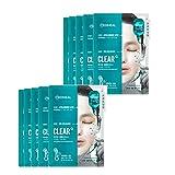 メディヒールカプセル100バイオセカンダムクリアアルファマスクパック10枚、Mediheal Capsule100 Bio Seconderm Clear Mask Pack 10 Sheets [並行輸入品]
